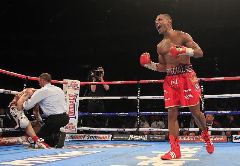 Boxing after dinner speaker, Kell Brook