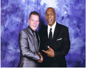 Lester Crabtree on a recent sportsman dinner with Mike Tyson