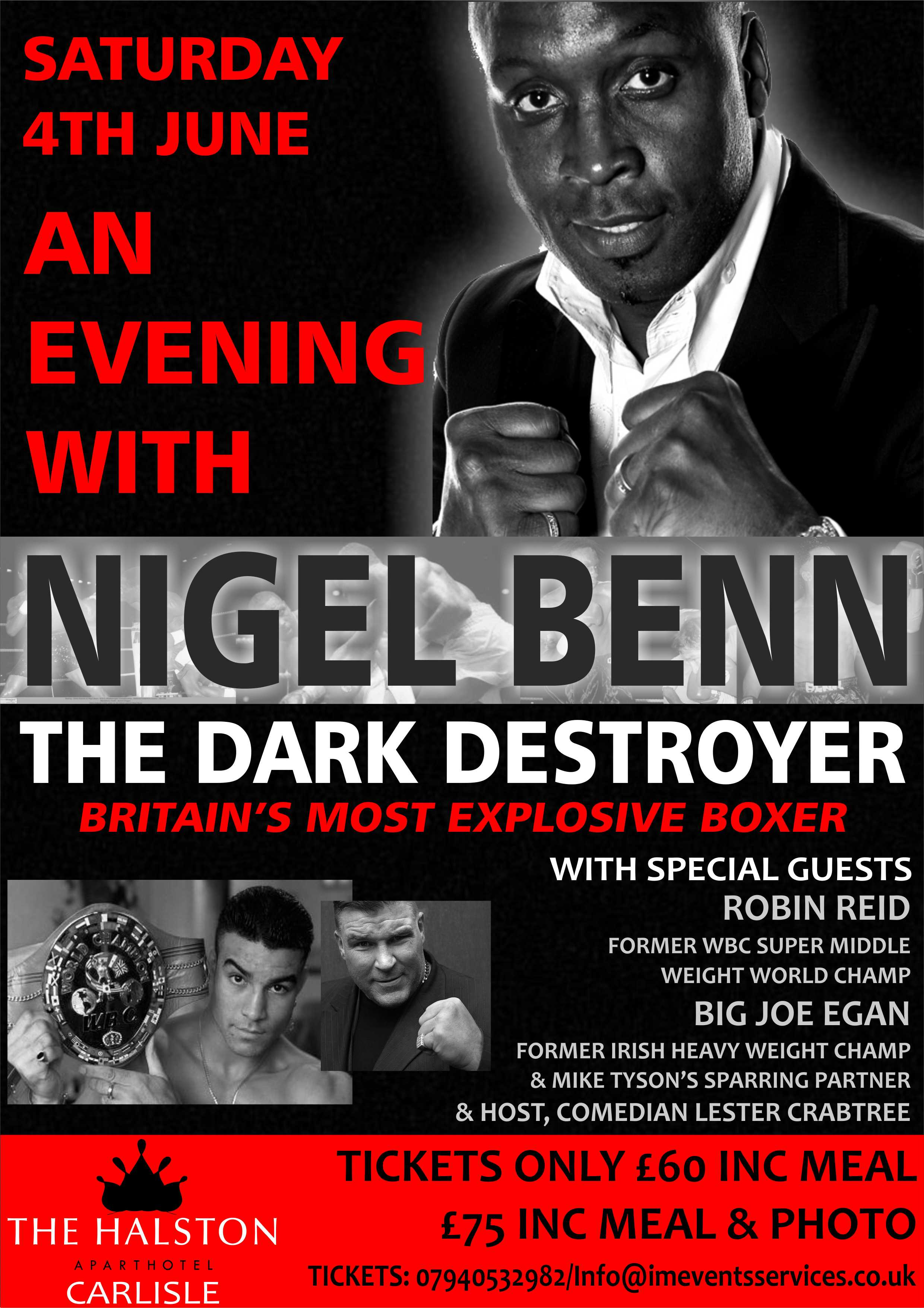 An Evening with Nigel Benn