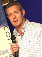 Gavin Hastings, scottish rugby speaker
