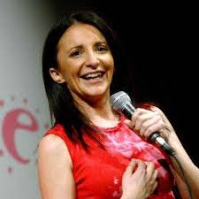 Book a comedienne, Lucy Porter